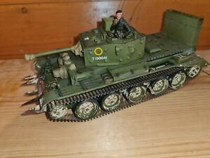 Tamiya 1/35 Cromwell Tank With Accurate Armour Upgrades, Built, Painted,...