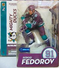 Sergei Fedorov - McFarlane NHL Hockey - Mighty Ducks Series 9 - New