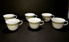 Corelle By Corning Spring Blossom Crazy Daisy Coffee Cups Mugs 8 Oz Lot Of 6