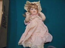 Large Antique Doll Porcelain Estate Sale Girl