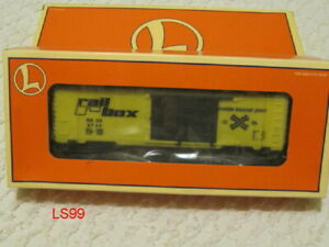 NOS LIONEL Railbox Boxcar 6 26240