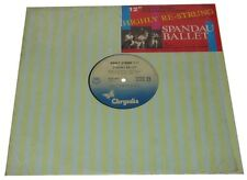 """Philippines SPANDAU BALLET Highly Re-Strung 12"""" EP record"""