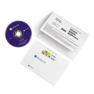 Microsoft Windows 10 Pro OEM DVD Boxed Genuine 32/64bit Online Activate Lifetime