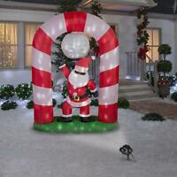8 ft. Lighted Disco Santa Scene Animated Christmas Inflatable