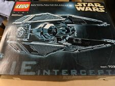 LEGO 7181 Star Wars TIE Interceptor Ultimate Collector Series Complete