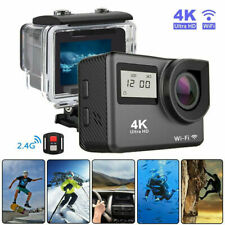 4K Wifi HD Sports Action Camera Cam DV Camcorder Helmet Go Pro Remote Waterproof
