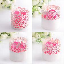 Décorations de fête bougies blancs pour la maison
