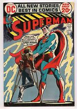 Bronze Age SUPERMAN #254 1972 VF - NEAL ADAMS BACKUP STORY ART