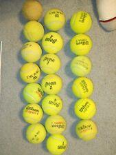 Box of 20 used Tennis Balls