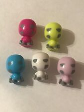 Gogos Crazy Bones Series 1  - Skull Lot Of 5