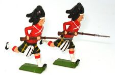 BRITAINS FROM SET NO. 8 - SEAFORTH HIGHLANDERS CHARGING - 2 FIGURES