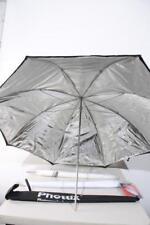 "Used Studio Lighting Umbrella Kit w/ (2) White (1) Black 32 & 40"""