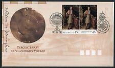 AUSTRALIA/CHRISTMAS ISLAND - TERCENTENARY DE VLAMINGH'S VOYAGE 1996 - FDC (JP)
