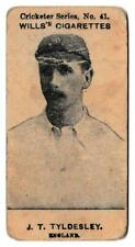 More details for wills (w.d. & h.o.) - 'cricketers series (1901)' #41a - j.t. tyldesley (england)