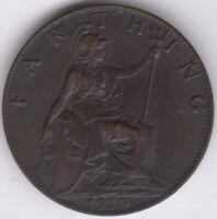 1910 Edward VII Farthing | British Coins | Pennies2Pounds