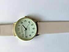 Philip Mercier, Batt, Analogue, Dusty Pink strap white face, X Large Watch - New