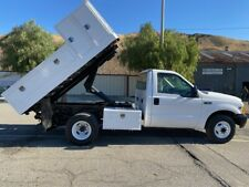 Ford F-350 Dump Truck, Auto, Ac, Low Miles, V10 Ex Southern Ca City Clean