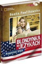 BEATA PAWLIKOWSKA Blondynka na językach - Angielski USA + CD (mp3) UNIKAT!