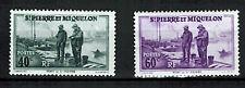 1939 - Colonies - Saint.Pierre & Miquelon - Port de St.Pierre - Yt.n°196/98