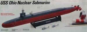 Testors Dragon DML 1:350 USS Ohio Nuclear Submarine Plastic Model Kit #930U