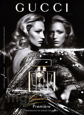 Blake Lively 1-page clipping Oct 2013 ad for Gucci