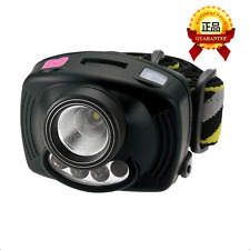 Fishing / Camping LED Headlamp Torch - 3W Cree + Twin UV Lights & Sensor Switch