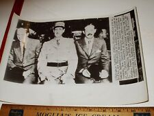 Rare Historical Orig VTG WWII Robert D Murphy Charles DeGaulle H MacMillan Photo