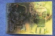1998 INKWORKS LOST IN SPACE ROBOT 2 Card UNCUT Sheet with #B9 & WM1