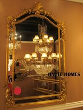 """NEW LARGE 48"""" VICTORIAN ORNATE VENETIAN GOLD ARCH ACANTHUS VANITY WALL Mirror"""