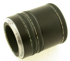 Contax 645 Extension Tube Set tra anello-frase 13mm 26mm 52mm macro Macro Top