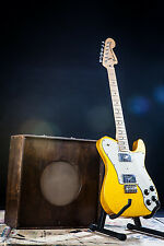VERY RARE 2012 FENDER SPECIAL RUN FSR TELECASTER '72 DELUXE IN VEGAS GOLD TELE