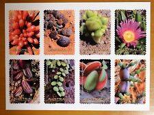 STAMPS featuring succulents - stamp collection, poster,  image history of stamps