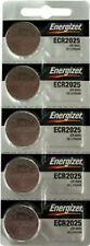 5 PC CR2025 Energizer Battery WATCH BATTERIES New  Fresh