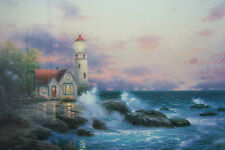 "Thomas Kinkade ""BEACON OF HOPE""  Signed, Lithograph, P/P Edn.44/220. 18x27"