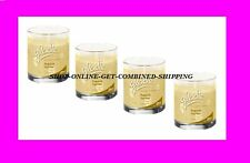4 Jars Glade FRENCH VANILLA Holiday Winter Collection Candle