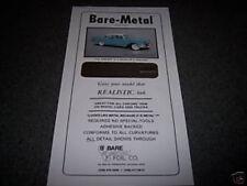 Bare Metal Foil CHROME sheet free shipping