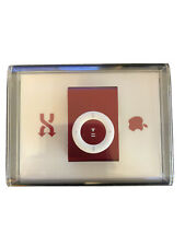 New Sealed Apple iPod shuffle 2nd Generation Special Edition (Product) Red 1Gb