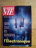 Science et vie N°49 HORS SERIE 1959 L'électronique