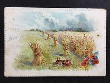 Vintage Postcard - New Years Greeting Card #2 - Raphael Tucks Early  No Divide