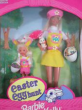 1997 Barbie & Kelly Easter Egg Hunt Gift Set #19014