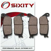 Sixity Organic Brake Pads  FA142 FA142  Front + Rear Replacement Kit Full ml