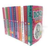 Dork Diaries 12 Book Collection Set Rachel Renee Russell Puppy Love, Holiday Hea