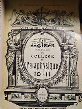 College de Pataphysique Viridis candela Jean Dubuffet 1960