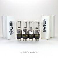 True NOS Date Matched Quad (4) Sylvania USA 1D21 [631P1] Vacuum Tubes