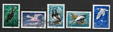 1972 Russia full set of 5 stamps featuring marine birds that are CTO