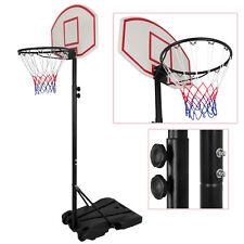 Adjustable Height Rim Basketball Hoop System Backboard Fitness Kids Sport