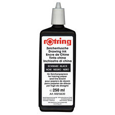Rotring Isograph Black Ink - 250ml