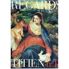 TITIEN REGARDS sur la  PEINTURE La Vierge au lapin ~1530 Huile sur Toile Louvre