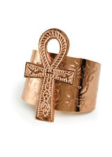 Jewelry Ankh Cuff Ankh pendant | Anklets Wrist Bracelet Cuff For women (Copper)