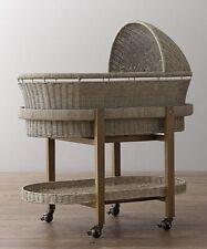 Restoration Hardware Wicker Baby bassinet